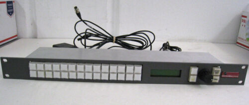 Sierra Video Systems SCP-132 Control Panel