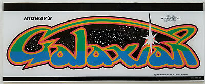 Used, GALAXIAN Marquee Screen Printed - PA EXCLUSIVE! for sale  Shipping to Canada
