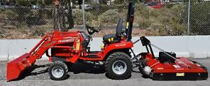 MASSEY TRACTOR, STD F.E.L.  & SLASHER PACKAGE Aldinga Beach Morphett Vale Area Preview