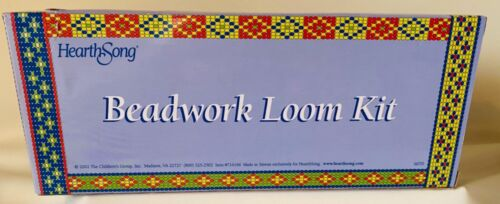 HEARTHSONG BEADWORK LOOM KIT for  AGES 8+ in ORIGINAL BOX - NEW!