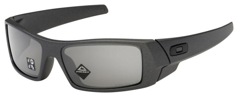Oakley Gascan Sunglasses OO9014-3560 Steel   Prizm Black Polarized Lens