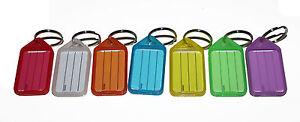 50x Key Tags MIXED. Bulk colour ID keytag key ring labels organiser Plastic