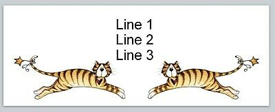 Personalized Address Labels Primitive Country Tabby Cats Buy 3 Get1 Free P 697
