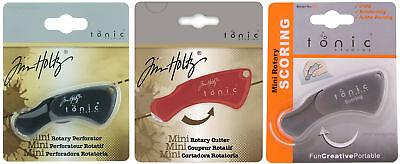 Mini Rotary Cutter (Tonic Studios 18mm Mini Rotary Tools Choose Cutter Perforator or Scoring)