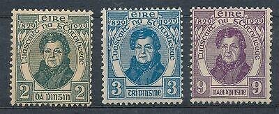 361025) Irland Nr.52-54* 100 Jahre Bürgerrechte für Katholiken