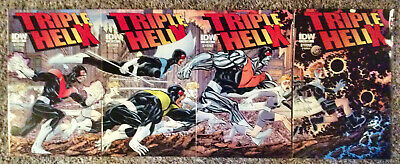 John Byrne lot 3 complete mini series and a one shots Triple Helix, Babe, Babe -
