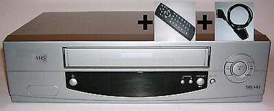 1 JAHR GARANTIE VHS Videorecorder + Zubehör Fernbedienung / gewartet gereinigt