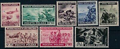 [I1552] Poland 1943 War good set of stamps VF MNH Value $36