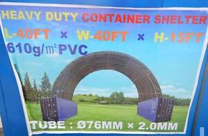 12m x 12m x 4.5m shipping container workshop shelter igloo dome Pullenvale Brisbane North West Preview