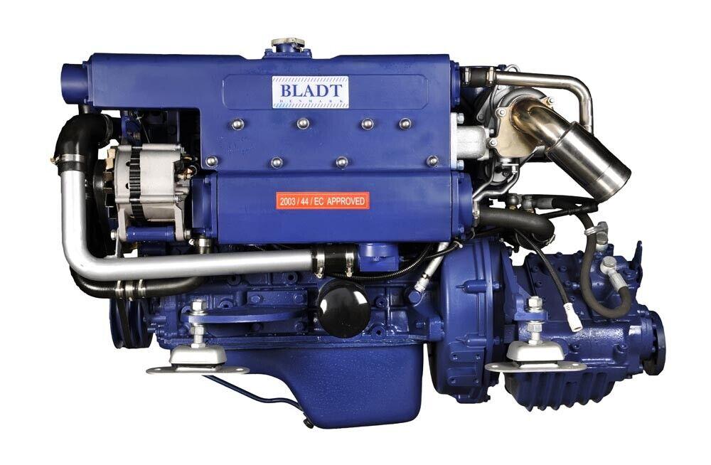 Bladt Diesel 120 PS Innenbordmotor (Segelboot / Motorboot Gleiter / Verdränger)