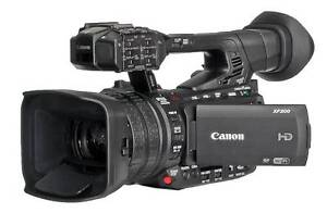 Canon XF200 Professional FULL HD camcorder Collingwood Yarra Area Preview