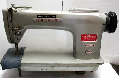 Consew 220 Lockstitch No Reverse Industrial Sewing Machine Head Only Pls Read