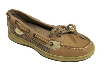 Sperry Women's Blue Fish 2Eye Tan US 6 NOB NWD ()