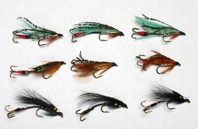 Salmon Sewin// sea trout JAMBO //SURFACE WAKE flies X 3
