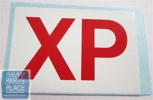 XP Pontiac 400 Automatic Ram Air Engine Code Decal