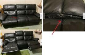 3 seat sofa (2 seat reclining)