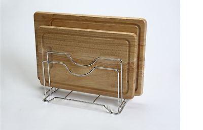 Chopping Board Holder Cutting Board Rack Kitchen Organizer Stainless Steel Wire