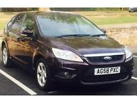 2008 (NOV08) FORD FOCUS 1.6 STYLE - 12 MONTHS MOT-DIESEL - 5 DOORS - SERVICE HISTORY - MANUAL