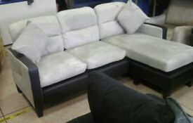 Next grey corner sofa bargain