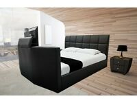 BRAND NEW Leather Bluetooth SurroundSound TV Bed SALE