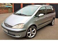 2005, AUTOMATIC,1.9TDI DIESEL, FORD GALAXY ZETEC SAME AS VW SHARAN, SEAT ELHAMBRA