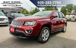 2016 Jeep Compass HIGH ALTITUDE, SUNROOF, REMOTE START, HTD LEAT