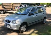 Suzuki Alto for sale, only £30 road tax for year, MOT, service history, low mileage, drives perfect.