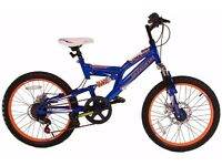 "Blue 20"" Muddyfox Cyborg Mountain Bike"