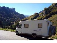 Motorhome Camper Van 4 Berth LHD Lowline C/B Challenger 104 2000 1.9td/Hymer/Rapido