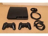 SONY PlayStation 3 320GB Slim & GTA 5 Game (A)