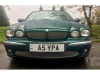 11 MONTHS MOT XTYPE AUTOMATIC JAGUAR X-TYPE 2003 2.1 PETROL V6 SE 160 BHP PRIVATE REG MINT DRIVE