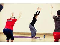 New hatha flow yoga class