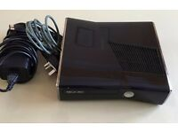 Black Xbox 360 Slim 250gb - 3 Controller & Kinect - 18 Games