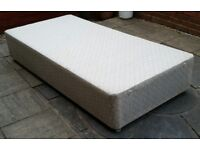 single bed base. In good condition.