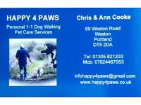 Personal 1-1 Dog Walking & Pet Services