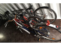Various bikes, spares or repair, hybrid town mountain bike
