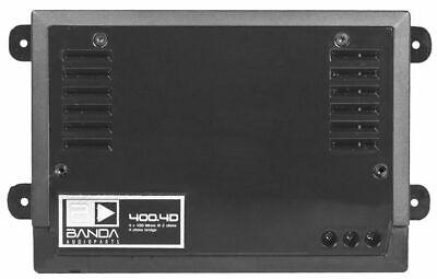 BANDA 400.4 BLACK EDITION 4-CHANNEL AMPLIFIER 400 WATTS BEST PRICE FREE (Best 4 Channel Amplifier)