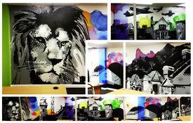 PROFESSIONAL GRAFFITI ARTIST FOR HIRE