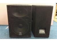 2x Wharfedale Pro LX-15 800 Watt Speakers Save £££s on NEW!