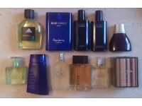 Various men's aftershave, some RARE and discontinued! MUST SEE Davidoff Cool Water Blue Essence CK