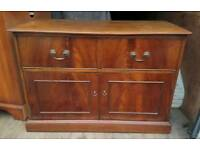 2 x small sideboards