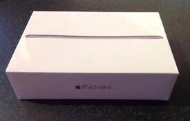 New Apple iPad mini 3 - 16GB - Wi-Fi - 7.9in - Silver - Original in Sealed Box