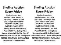 Sholing Auction every friday