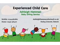 Experienced Child Care - Baby Sitting Service