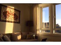 Sunny Edinburgh flat, 1 bedroom to rent. Would like to be able to stay in other some weekends