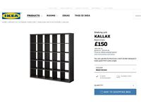 IKEA Shelving unit / storage wall / room divider