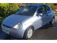 FORD KA 1299cc STYLE 3 DOOR HATCH 2004-54 LOOK ONLY 72K FROM NEW