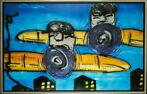 Herman Brood | Giclée: Airplane, Afmeting 100cm x 160cm