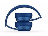 BEATS Solo 2 Wireless Bluetooth Headphones- Blue