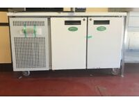 COUNTER FRIDGE, 2 DOOR, NEW, GREENFROST CLEARANCE SALE, £800 ONLY